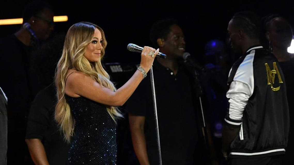 Mariah Carey performs during the iHeartRadio Music Festival. (File photo: AFP)