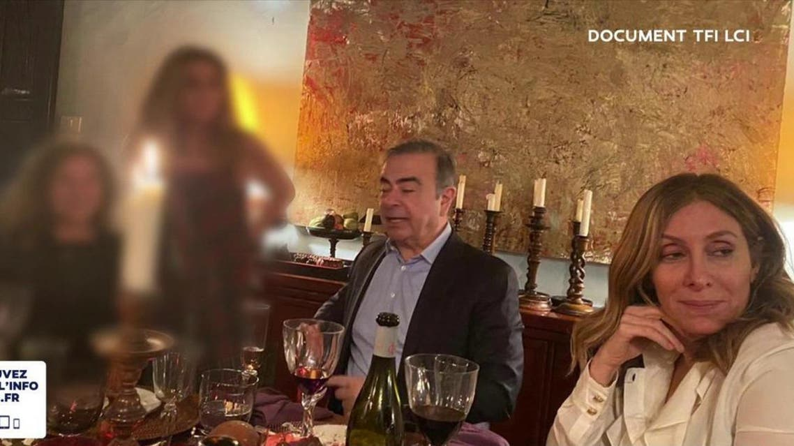 Carlos Ghosn in Lebanon (TFI/LCI)