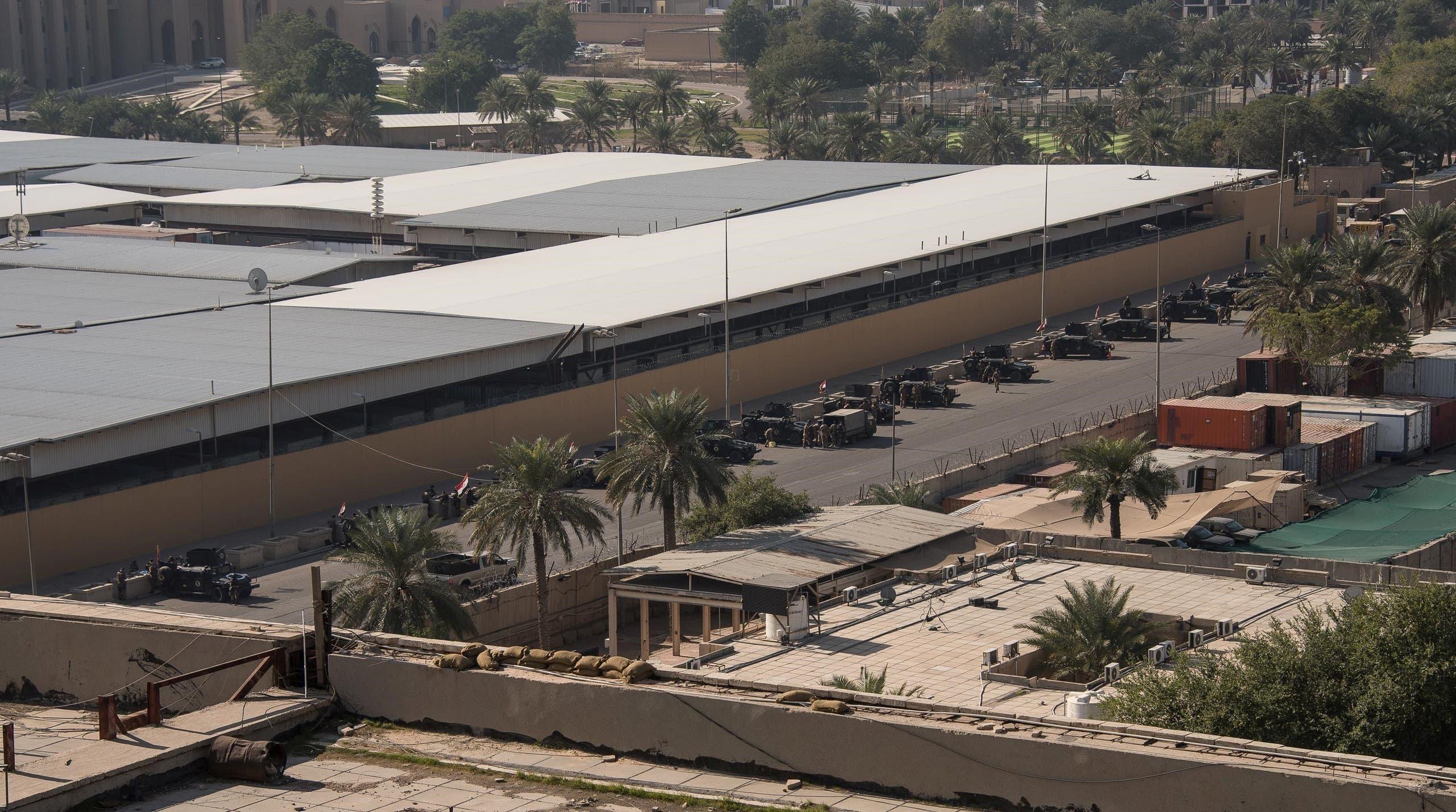 مجمع السفارة الأميركية في بغداد (أرشيفية رويترز)