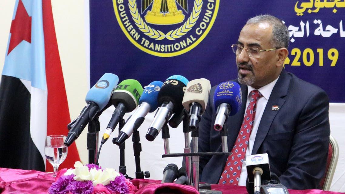 رئيس المجلس الانتقالي الجنوبي عيدروس قاسم الزُبيدي