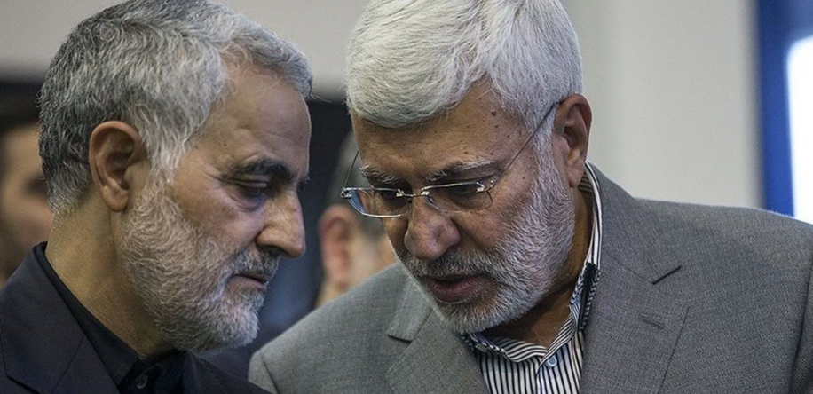 Abu Mahdi al-Mohandes and Qassem Soleimani (Supplied)