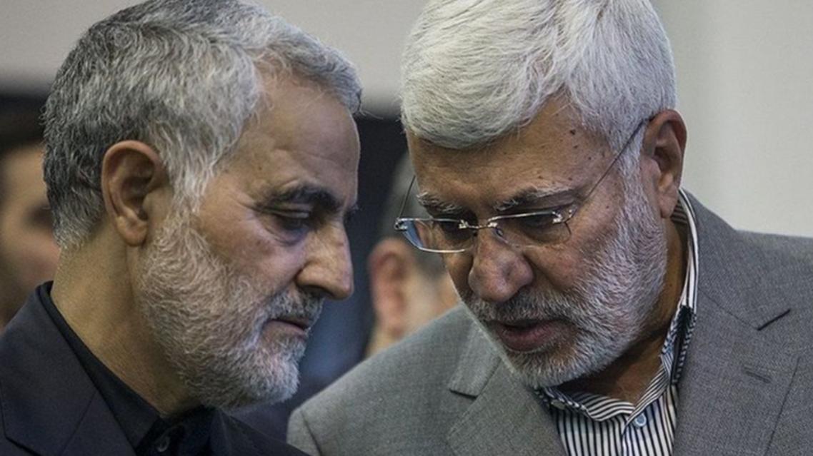 Abu Mahdi al-Mohandes and Qassem Soleimani (Supplied)