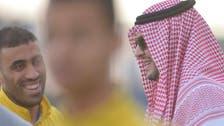 """النصر يستعد لـ""""السوبر"""".. وفيصل بن تركي يحضر التدريبات"""