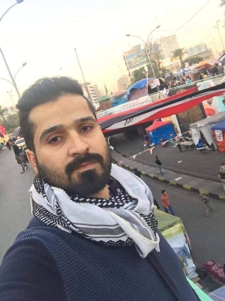 الناشط المدني احمد حسن هاشمبعد