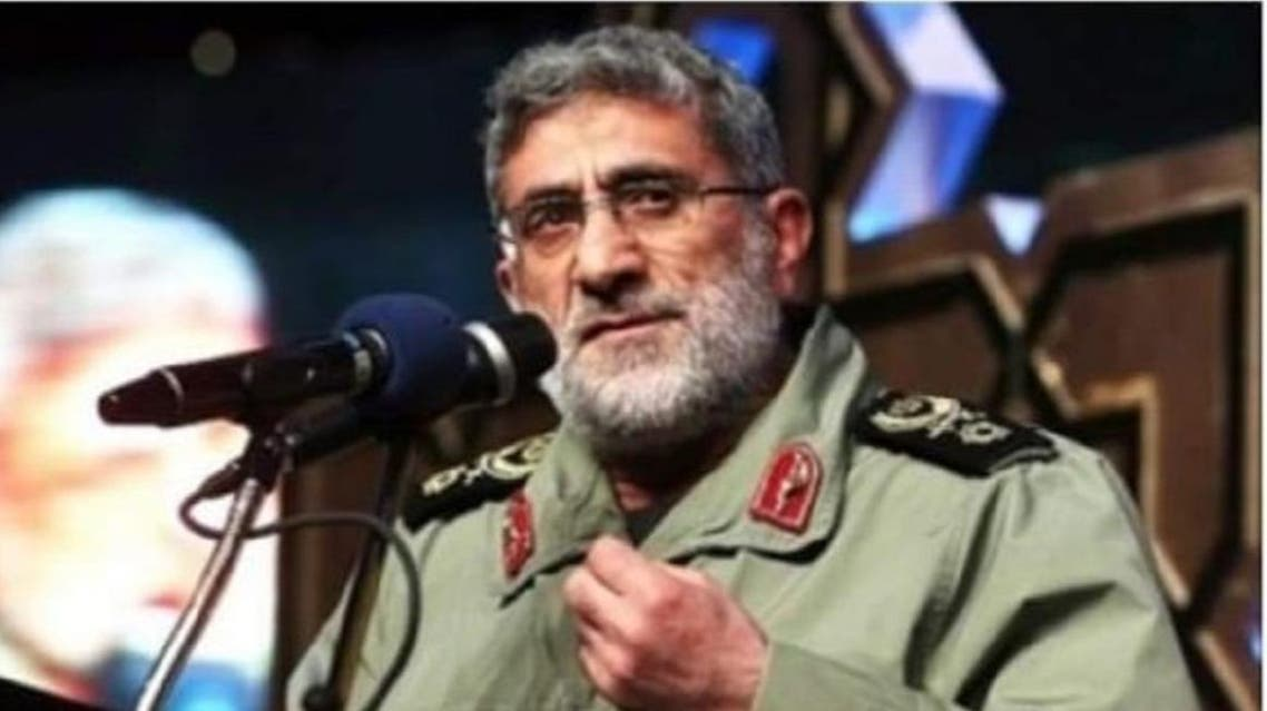 Iran's supreme leader appointed the deputy of IRGC Commander Qassem Soleimani, Brigadier General Esmail Ghaani, as the head of the IRGC – Quds Force. (Photo: Twitter)