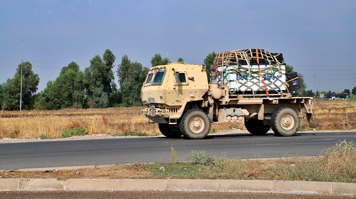 A U.S. military vehicle (File photo: AP)