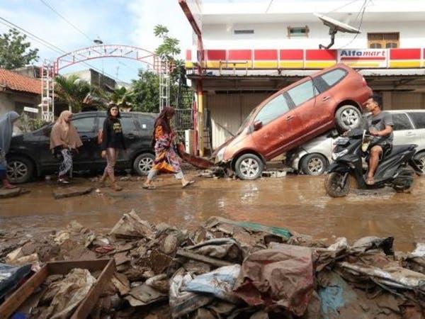 الأسوأ منذ 2007.. إندونيسيا تعاني من فيضانات خلفت 47 قتيلاً