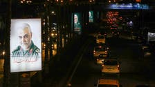 صور سليماني تحتل لافتات طريق مطار بيروت الدولي