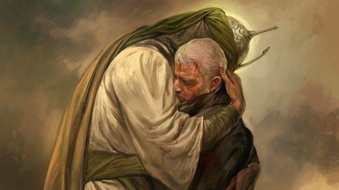 Khamenei website posts drawing of slain commander Soleimani with Imam Hussain