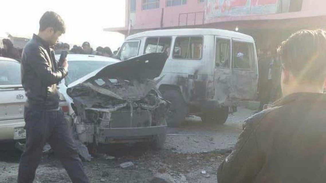 یک کشته و 3 زخمی در انفجاری در بلخ افغانستان