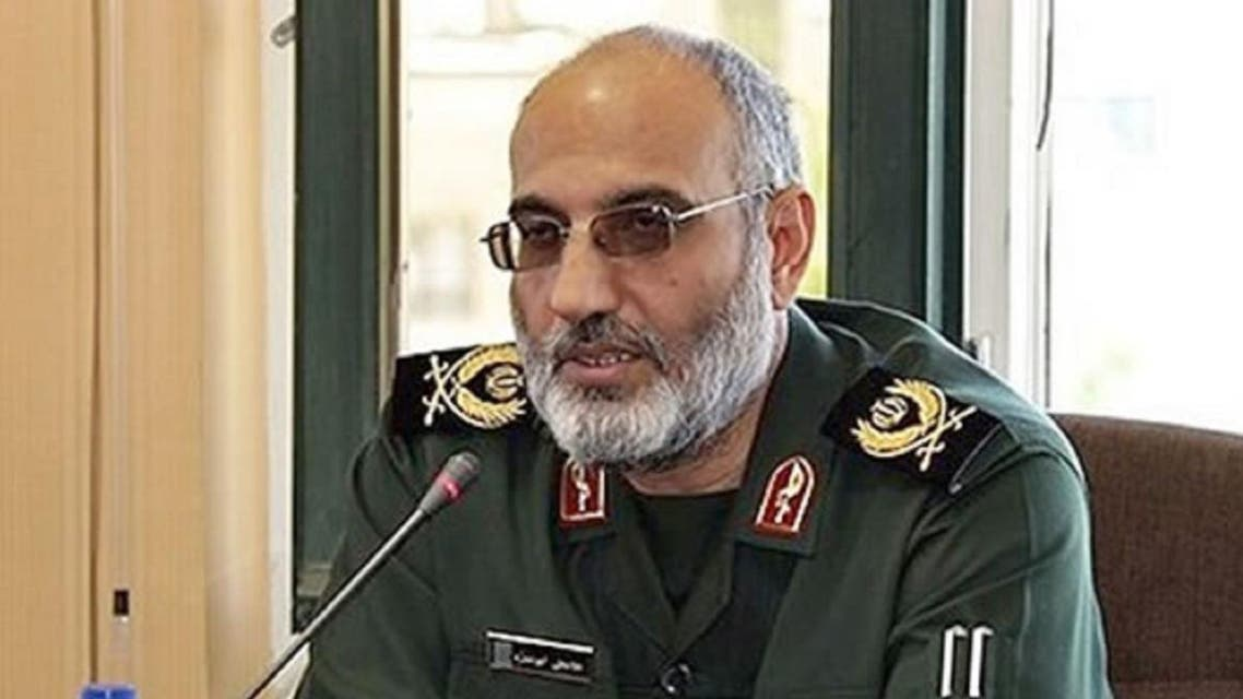 General Gholamali Abuhamzeh, the commander of the Guards in the southern province of Kerman, raised the prospect of possible attacks on ships in the Gulf. (Photo: Twitter)