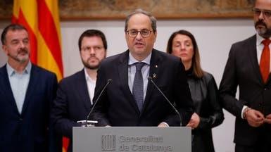 مفوضية الانتخابات الإسبانية تأمر بإقالة رئيس كاتالونيا