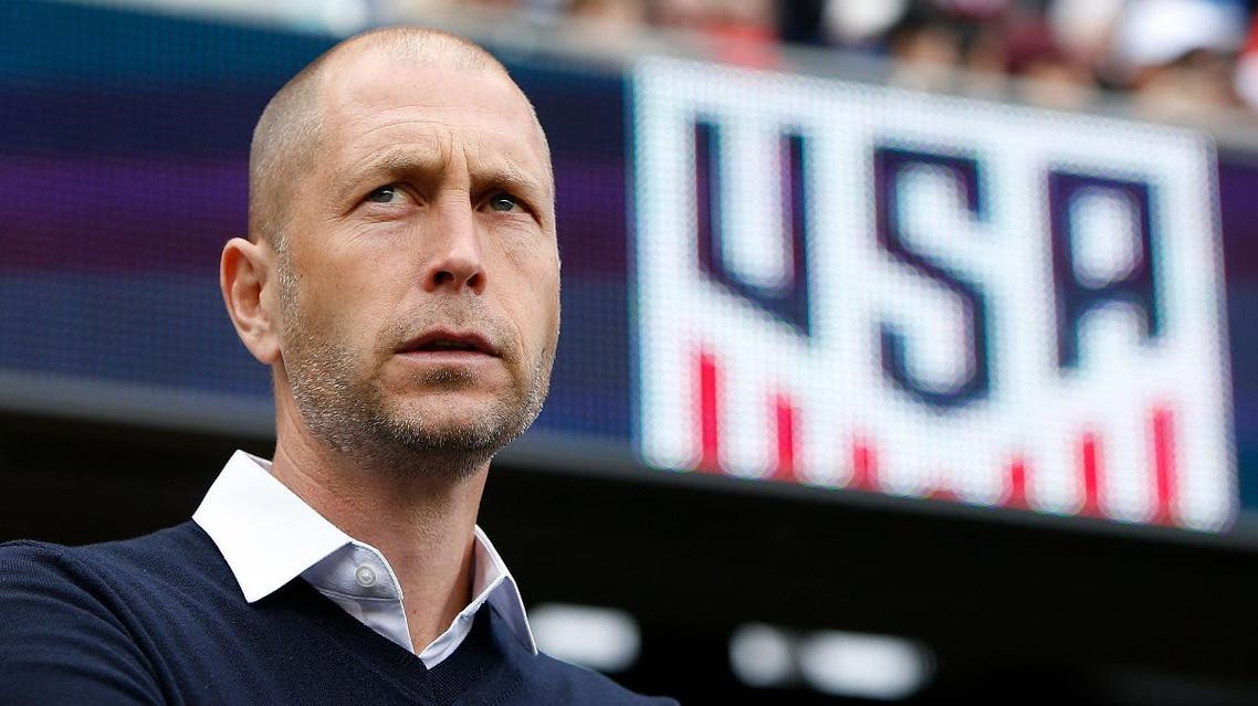 Head coach Gregg Berhalter of the United States men's national team looks on before their international friendly match against Costa Rica at Avaya Stadium on February 2, 2019 in San Jose, California. (AFP)