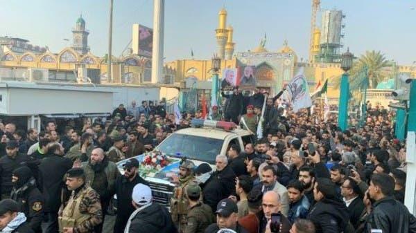 بمشاركة عبد المهدي.. تشييع سليماني والمهندس في بغداد