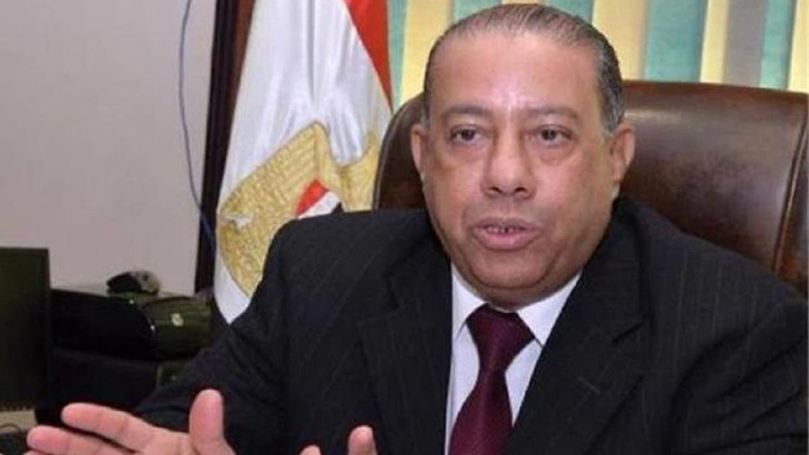 The head of Egypt's tax authority, Abdul Azim Hussein, has been arrested on charges of receiving  bribes. (Photo: Twitter)
