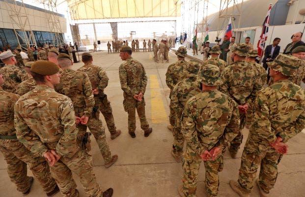 عناصر من قوات التحالف في العراق