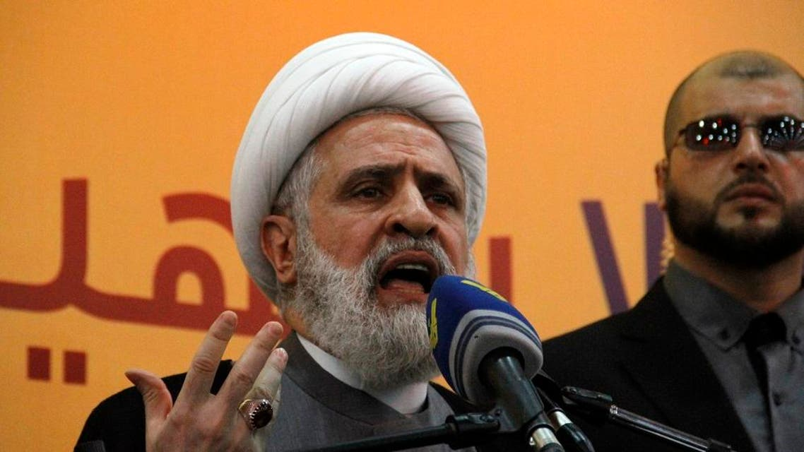 Naim Qassem, deputy chief of Lebanon's Hezbollah. (FIle photo: AFP)