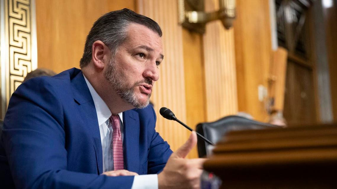 Senate Foreign Relations Committee member Sen. Ted Cruz, R-Texas, pictured during a hearing session in Capital Hill, Washington. (AP)