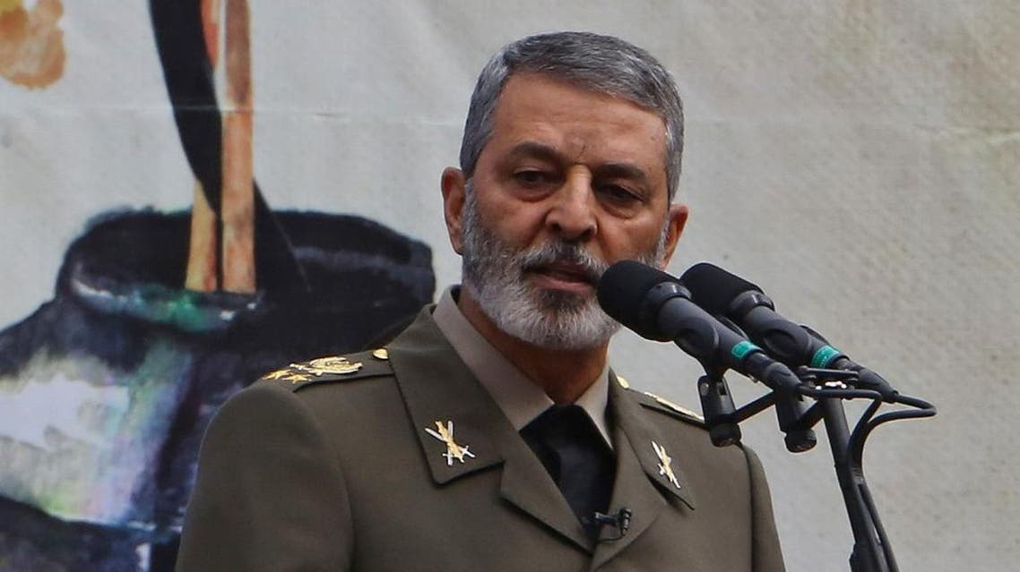 Commander-in-Chief of the Iranian Army Major General Abdolrahim Mousavi. (File photo: AFP)
