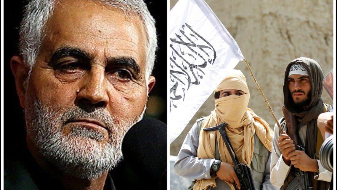 هشدار گروه طالبان به آمریکا بخاطر کشته شدن قاسم سلیمانی