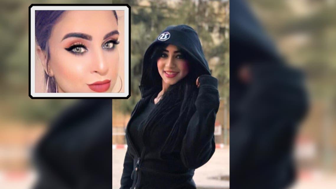 مي وفي الإطار صديقتها زهراء