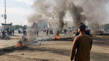حزب الله العراقي يطلق النار على المتظاهرين بالناصرية