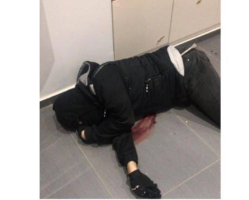 صورة متداولة لجثة السارق بعد مقتله