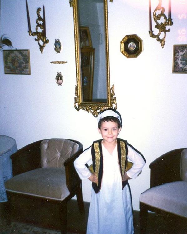 رامي في طفولته