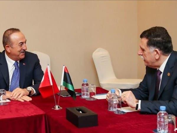 أول ظهور لتبون بأزمة ليبيا.. السراج وأوغلو في الجزائر