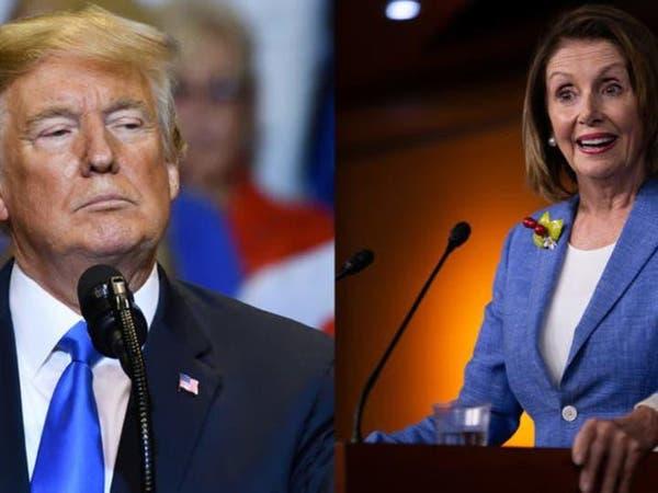 """ترمب يهاجم الديمقراطيين ويرفض الاجتماع مع """"المجنونة"""""""