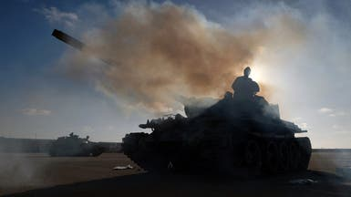 اشتباكات في محيط مطار طرابلس بين الجيش الليبي والوفاق