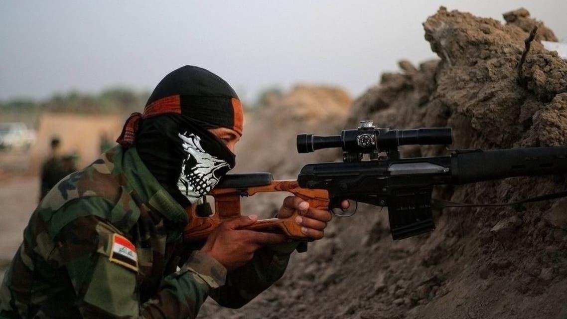 ميليشيات عراقية في جرف الصخر