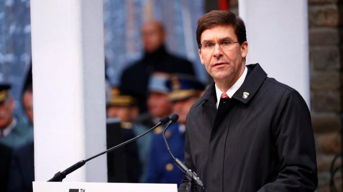 وزير الدفاع الأميركي: واشنطن لا تخطط للانسحاب من العراق