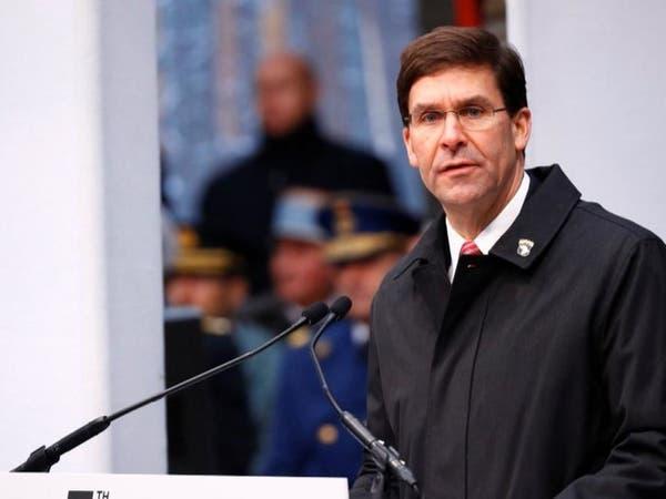 إسبر: نعتزم إعادة توزيع القوات الأميركية حول العالم