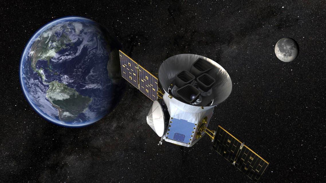 Image by NASA shows an illustration of the Transiting Exoplanet Survey Satellite (TESS). (File photo: AP)