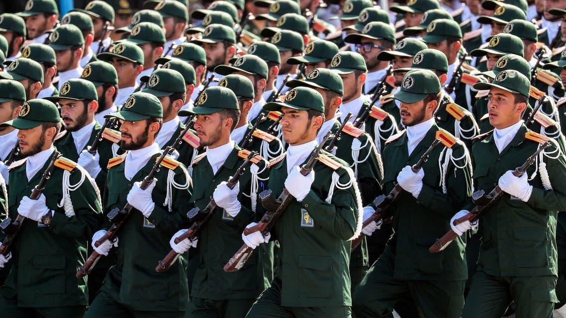 الحرس الثوري الإيراني(أرشيفية- فرانس برس)