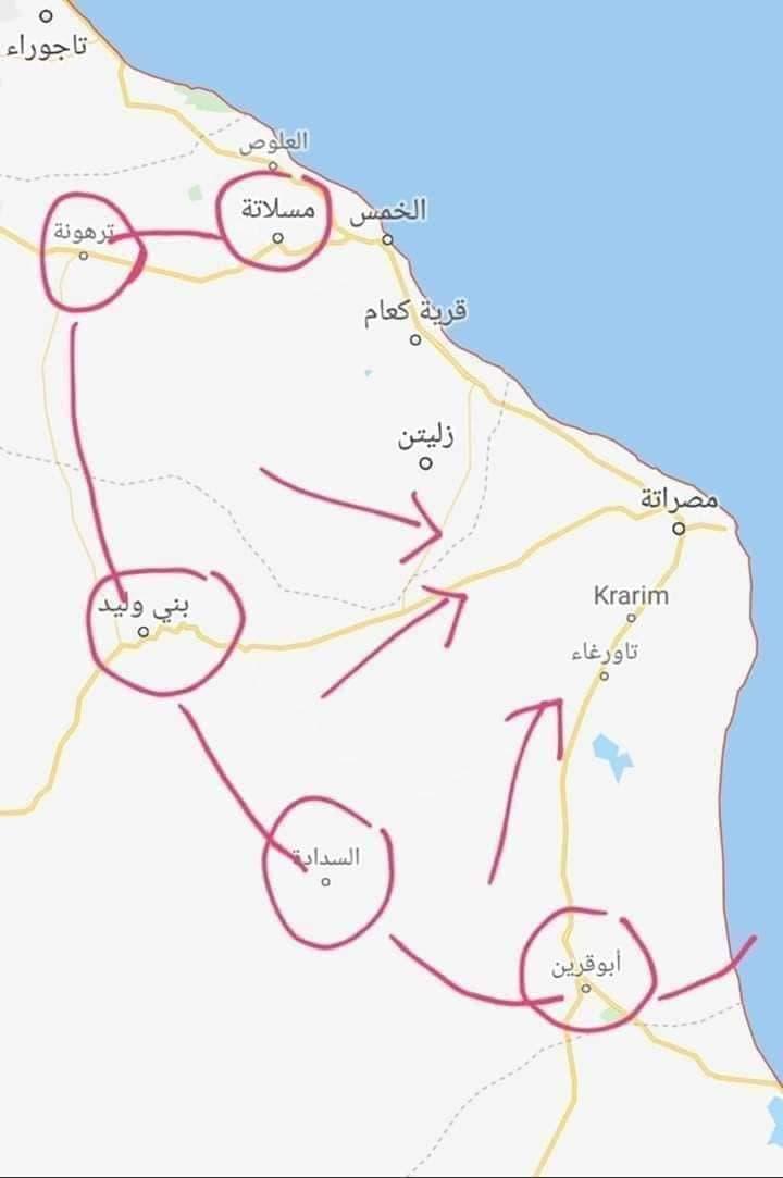 خريطة انتشار الجيش