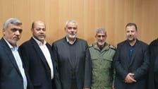 اسماعیل ہنیہ کی القدس فورس کے نئے سربراہ بریگیڈئر جنرل اسماعیل قاآنی سے ملاقات