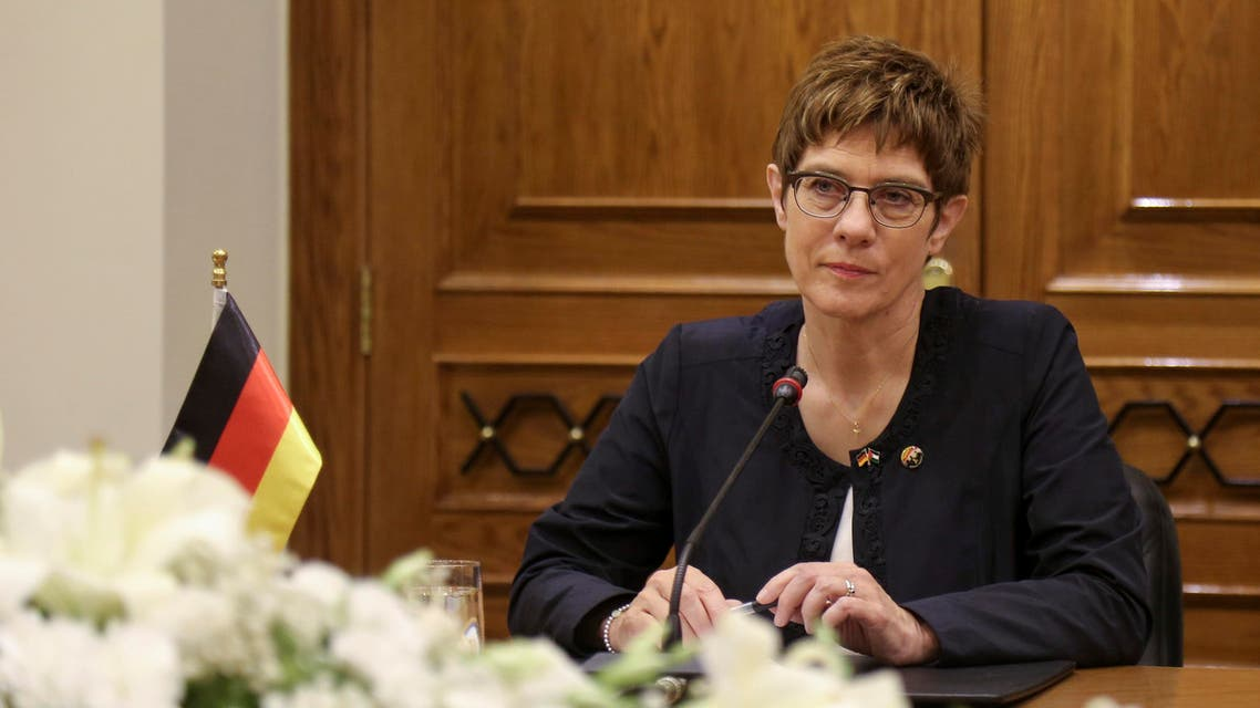 German Defense Minister Annegret Kramp-Karrenbauer. (File photo: AP)