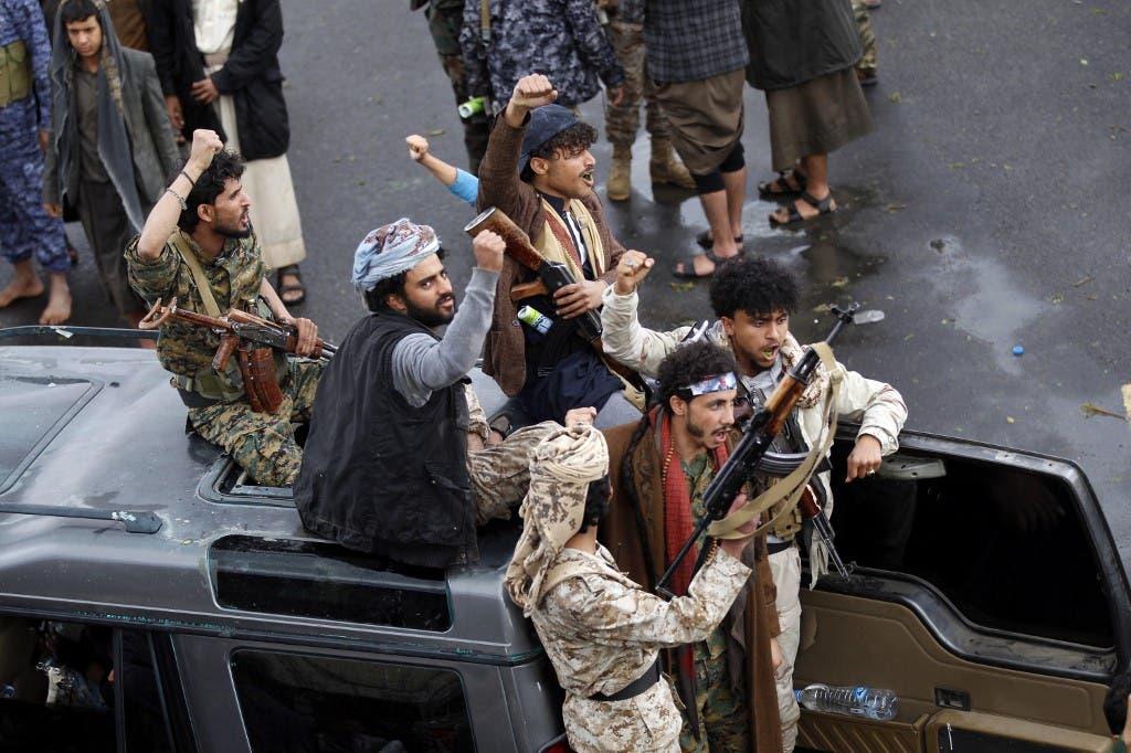 عناصر حوثية في صنعاء - فرانس برس