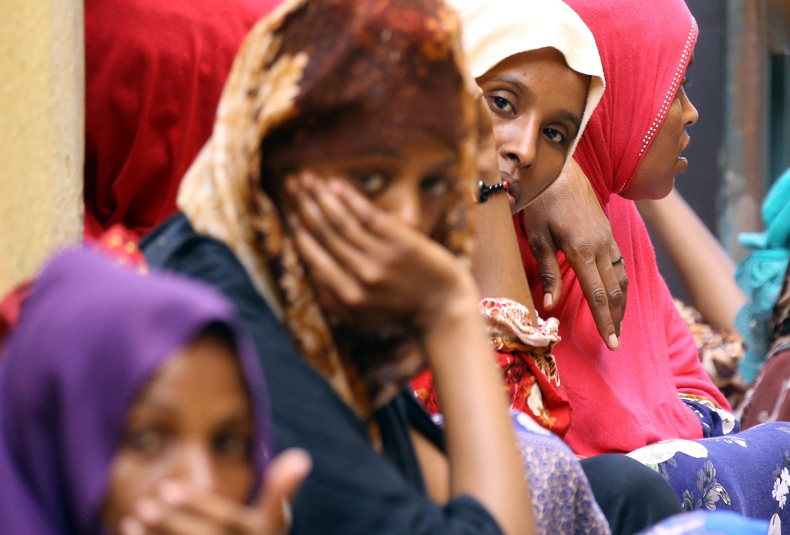 مهاجرون في ليبيا(أرشيفية- فرانس برس)