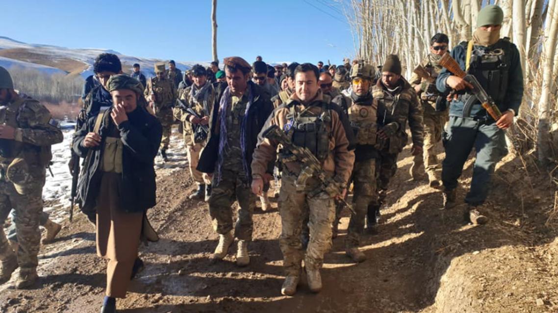 69 جنگجوی طالب به نیروهای دولتی افغانستان تسلیم شدند