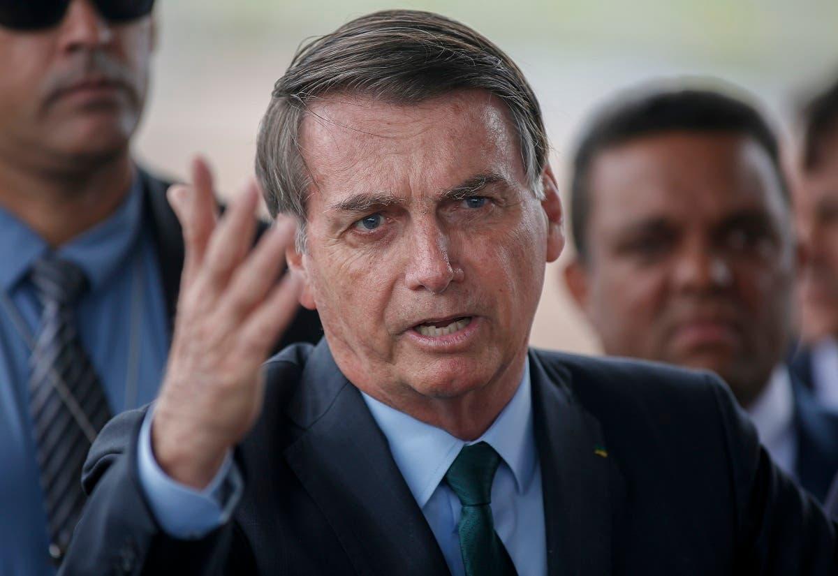 Brazilian President Jair Bolsonaro in Brasilia, Brazil, on January 7, 2020. (File photo: AFP)