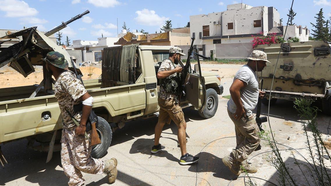 فصائل مسلحة ضمن قوات الوفاق في طرابلس(أرشيفية- فرانس برس)