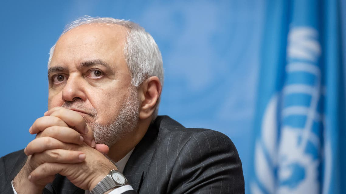 Iranian Foreign Minister Mohammad Javad Zarif looks at a press conference. (File photo: AFP)