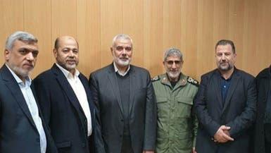 بعد تشييع سليماني.. هنية يلتقي قائد فيلق القدس الجديد