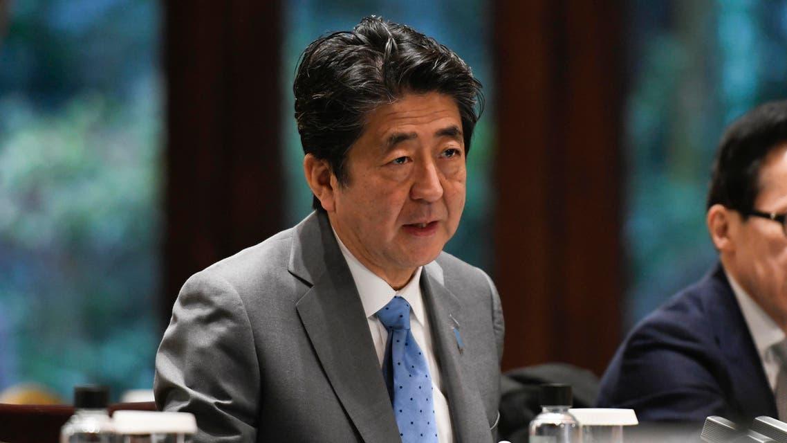 Japan's Prime Minister Shinzo Abe. (File photo: AFP)