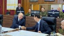 روسی صدر پوتین کا غیرعلانیہ دورۂ شام، بشارالاسد سے ملاقات