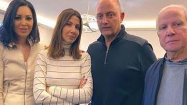 الصورة الأولى لزوج نانسي عجرم بعد إخلاء سبيله