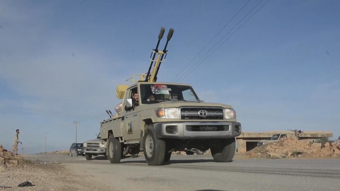 الجيش الليبي يعلن تقدمه في محاور محيطة بمصراتة